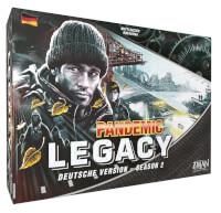 Schachtel Vorderseite - Pandemic Legacy - Season 2 (schwarz)