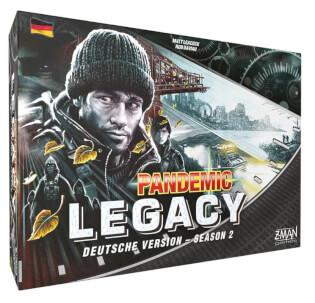 Schachtel Vorderseite- Pandemic Legacy - Season 2 (schwarz)
