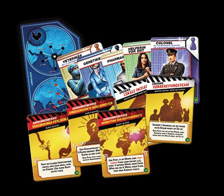 Spielkarten- Pandemic - Ausnahmezustand