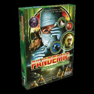 Schachtel Vorderseite- Pandemic - Ausnahmezustand