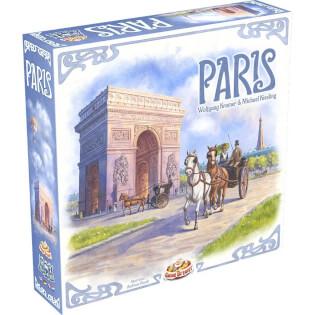 Schachtel Vorderseite, linke Seite- Paris