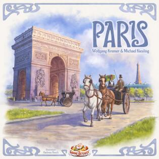 Schachtel Vorderseite- Paris