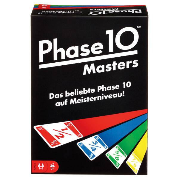 Schachtel Vorderseite- Phase 10: Masters