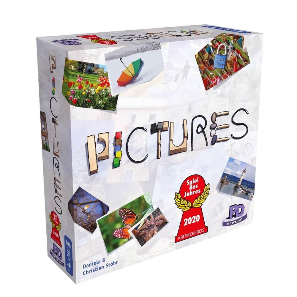 Schachtel Vorderseite links - Spiel des Jahres 2020- Pictures