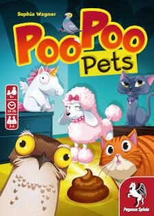 Schachtel Vorderseite- Poo Poo Pets