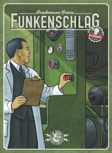 Schachtel Vorderseite- Funkenschlag Recharged Version