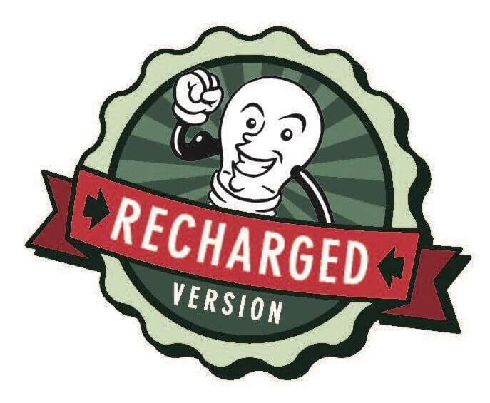 Button- Funkenschlag Recharged Version