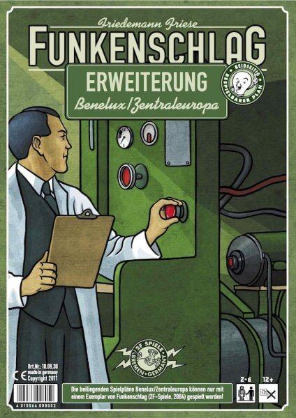 Schachtel Vorderseite- Funkenschlag: Benelux / Zentraleuropa
