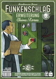 Schachtel Vorderseite- Funkenschlag: China / Korea