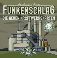 Schachtel Vorderseite - Funkenschlag: Die neuen Kraftwerkskarten