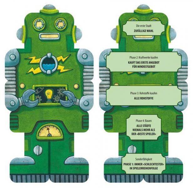 Spielmaterial - Roboter- Funkenschlag: Die Roboter