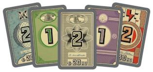 Spielkarten- Funkenschlag: Die Aktiengesellschaften