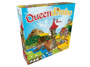 Schachtel Vorderseite- Queendomino