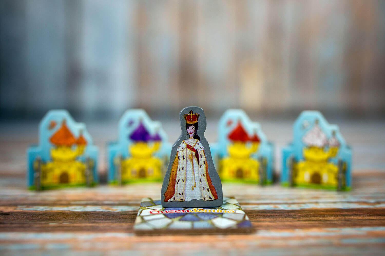 Spielfigur Queen- Queendomino