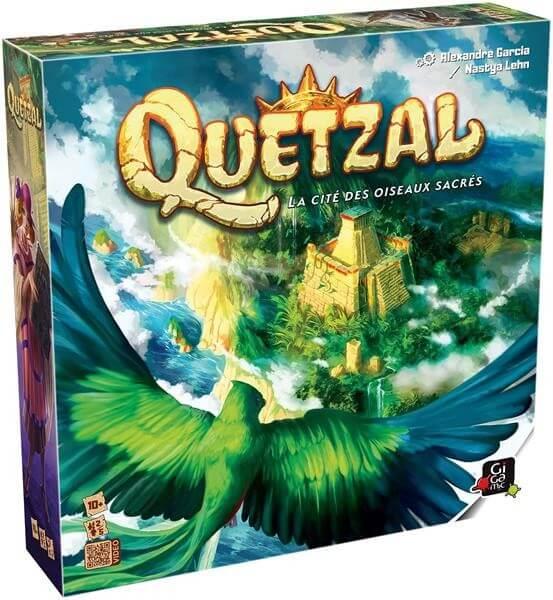Schachtel Vorderseite- Quetzal
