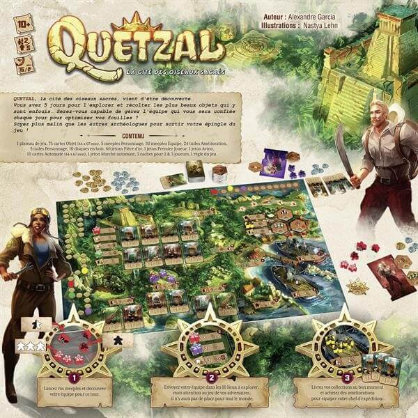 Schachtel Rückseite- Quetzal