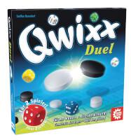 Schachtel Vorderseite - Qwixx - Duel
