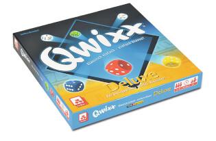 Schachtel Vorderseite- Qwixx - Deluxe