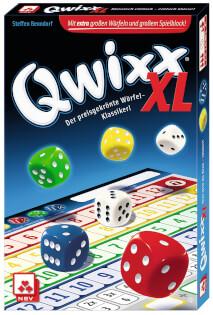Schachtel Vorderseite- Qwixx - XL