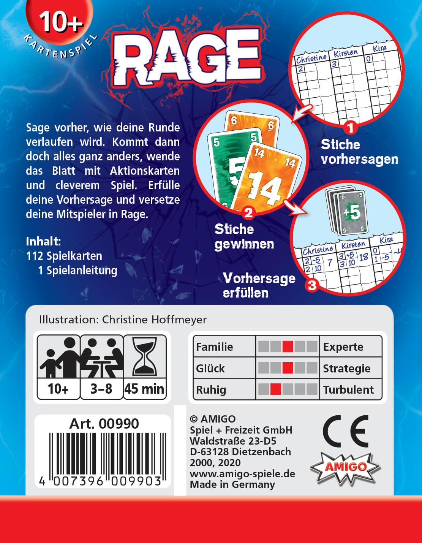 Schachtel Rückseite- Rage