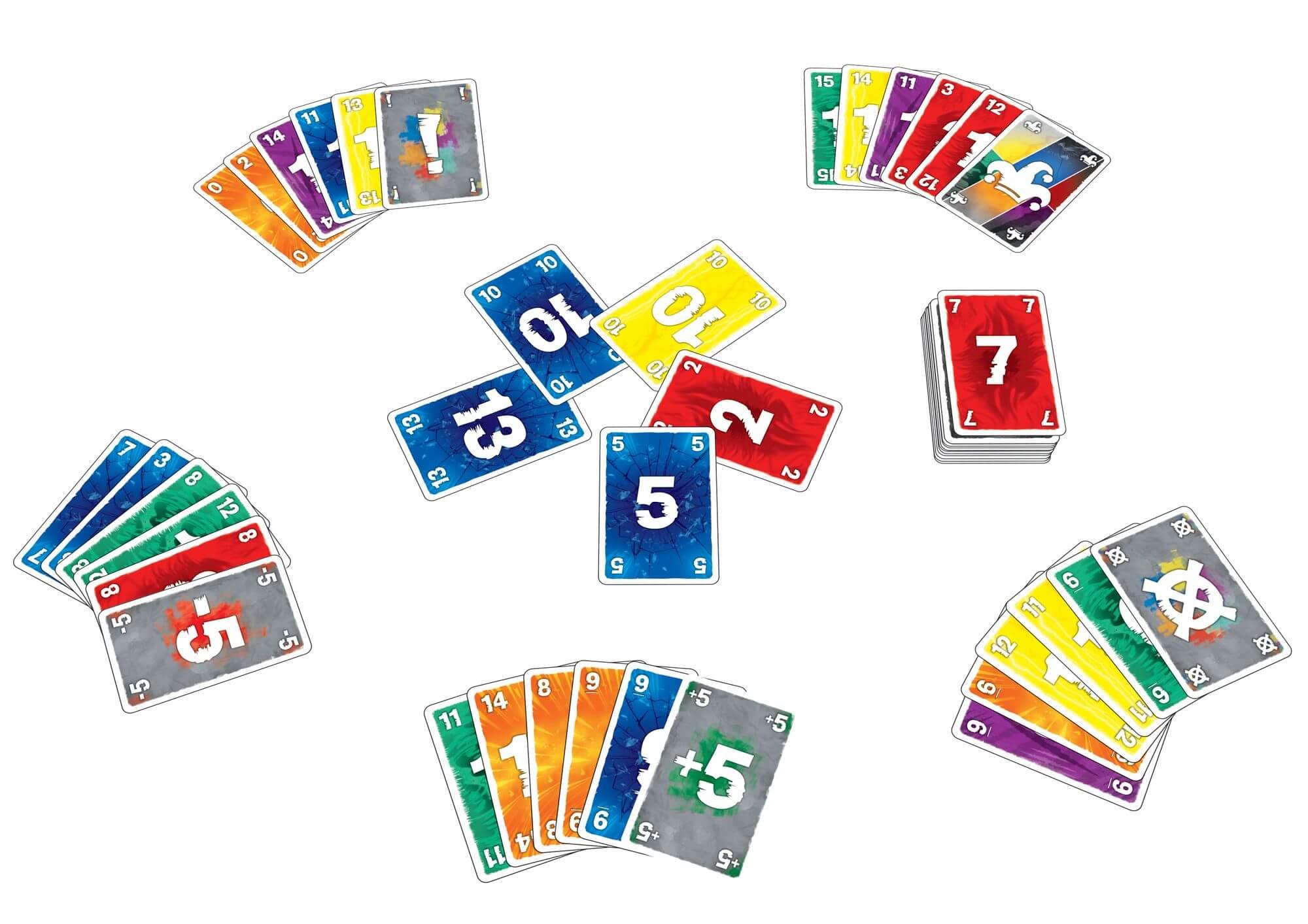 Spielkarten- Rage
