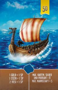 Spielkarte Schiff- Räuber der Nordsee