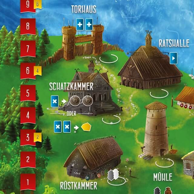 Spielplan- Räuber der Nordsee