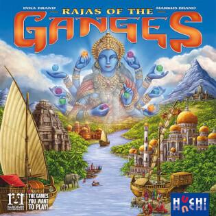 Schachtel Vorderseite - Rajas of the Ganges