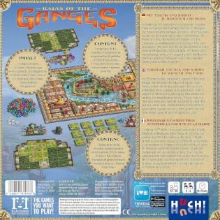 Schachtel Rückseite- Rajas of the Ganges