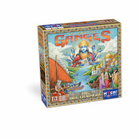 Schachtel Vorderseite - Rajas of the Ganges - The Dice Charmers