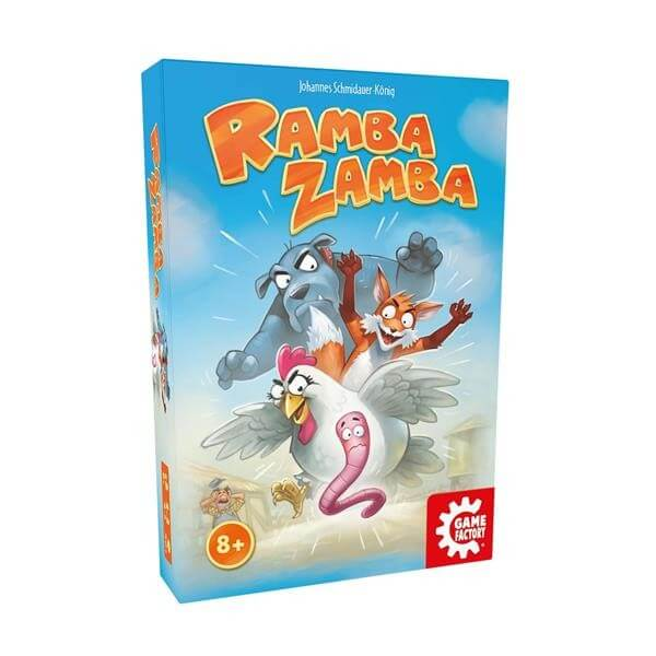 Schachtel Vorderseite- Ramba Zamba