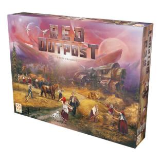 Schachtel Vorderseite- Red Outpost