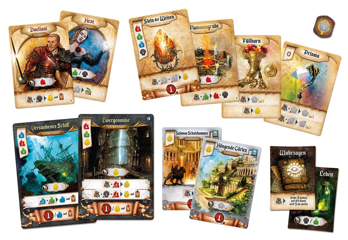 Spielkarten- Res Arcana