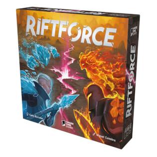 Schachtel Vorderseite - nominiert zum Kennerspiel des Jahres 2021- Riftforce
