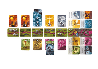 Spielkarten - nominiert zum Spiel des Jahres 2021- Riftforce