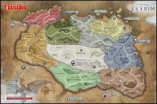 Spielplan- Risiko - The Elder Scrolls V - Skyrim