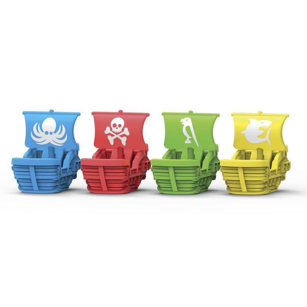 Schiffe farbig- Risiko Junior