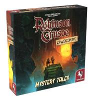 Schachtel Vorderseite, linke Seite - Robinson Crusoe: Mystery Tales