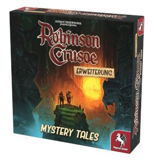 Schachtel Vorderseite, rechte Seite- Robinson Crusoe: Mystery Tales