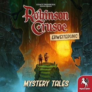 Schachtel Vorderseite- Robinson Crusoe: Mystery Tales
