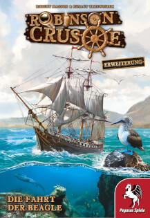 Schachtel Vorderseite- Robinson Crusoe: Die Fahrt der Beagle