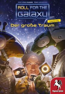 Schachtel Vorderseite- Roll for the Galaxy: Der große Traum