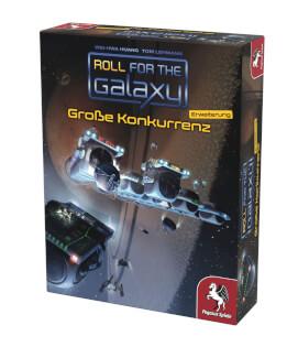 Schachtel Vorderseite, rechte Seite- Roll for the Galaxy: Große Konkurrenz