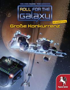 Schachtel Vorderseite- Roll for the Galaxy: Große Konkurrenz
