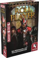 Schachtel Vorderseite, linke Seite - Roll Player
