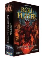 Schachtel Vorderseite, linke Seite - Roll Player: Monsters & Minions