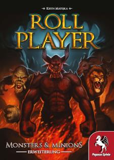 Schachtel Vorderseite- Roll Player: Monsters & Minions