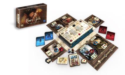 Schachtel und Spielmaterial- Romeo und Julia