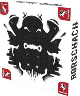 Schachtel Vorderseite, rechte Seite- Rorschach