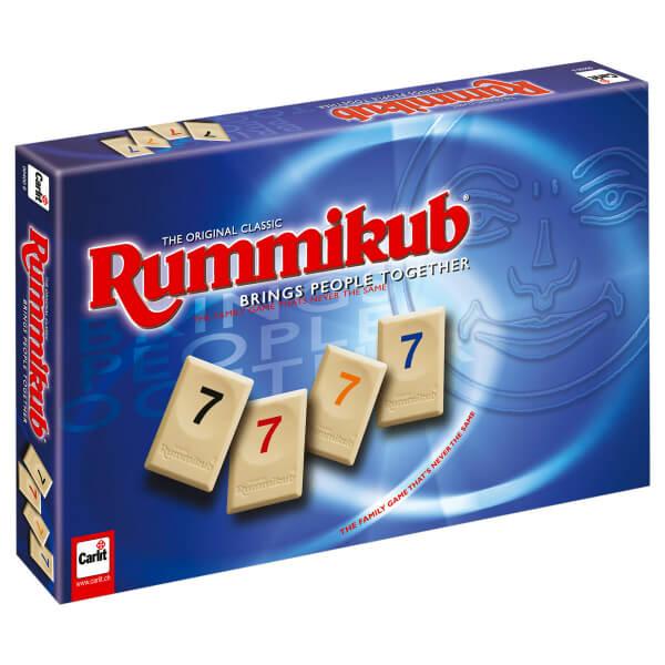 Schachtel Vorderseite- Rummikub Classic